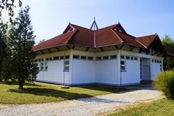 Castrum Thermal Camping Nagyatád Main Building / Sanitary Building